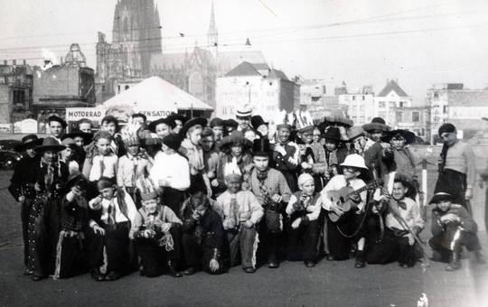 Karnevalssonntag 1950