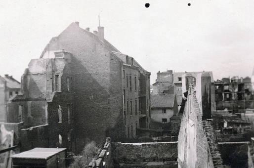 Kölner Trümmer im Jahr 1950
