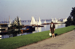 Segelboote auf der Elbe