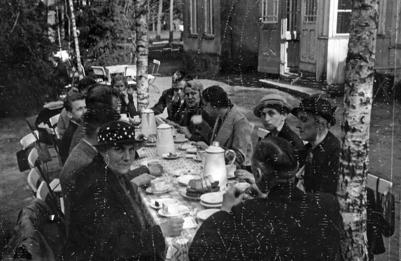 garten, Kaffe, Kalinigrad, Königsberg, kuchen, maifeier, mode