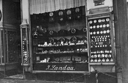 Schaufenster von Landau