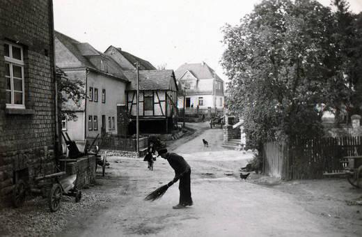 Dorfstraße in Riesweiler
