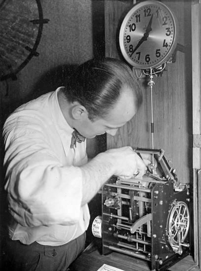 arbeit, Bistrick, Kalinigrad, Königsberg, Kontrollapparat, Reparateur, uhr