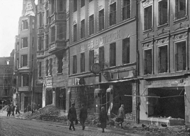 Bistrick, Feuer, Juwelier, Kaliningrad, Königsberg, Zerstörung