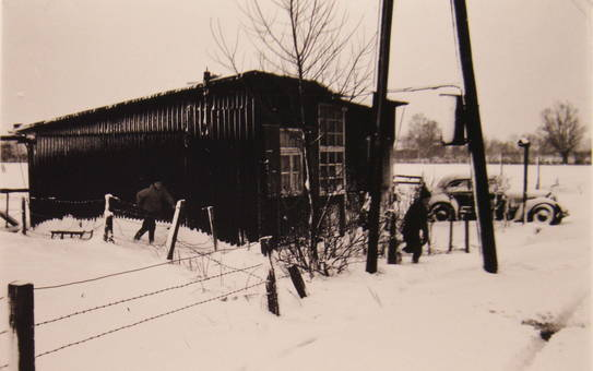 Winter im Behelfsheim