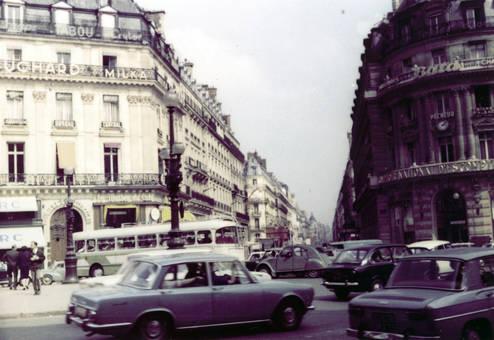 Verteilerkreis in Paris