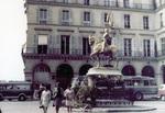 Goldene Jeanne d'Arc-Statue