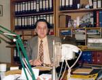 Mann im Büro