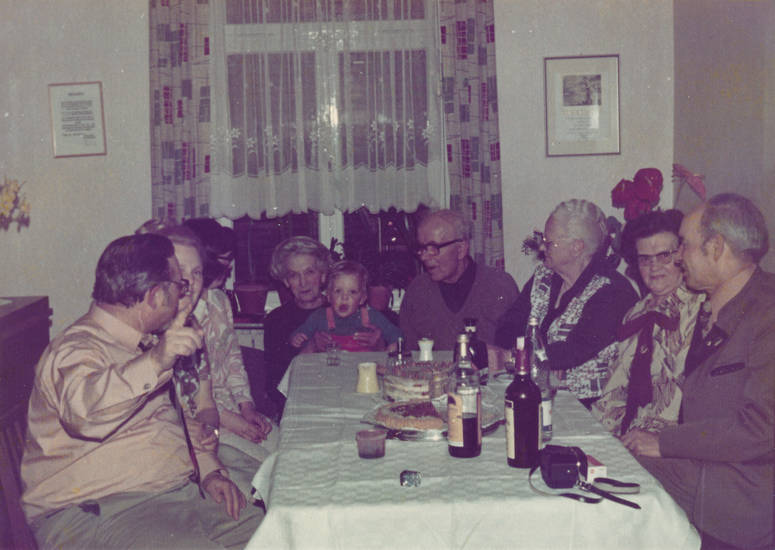 familie, feier, geburtstag, Kindheit, kuchen