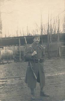 Soldat im Ersten Weltkrieg