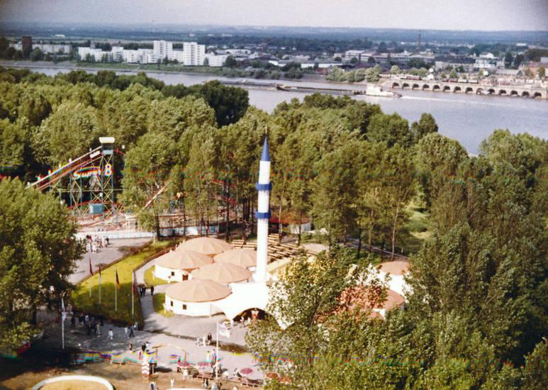 attraktion, Freizeitpark, köln, Tivoli, turm, Vergnügungspark