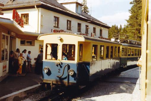 Bahn bei Eibsee