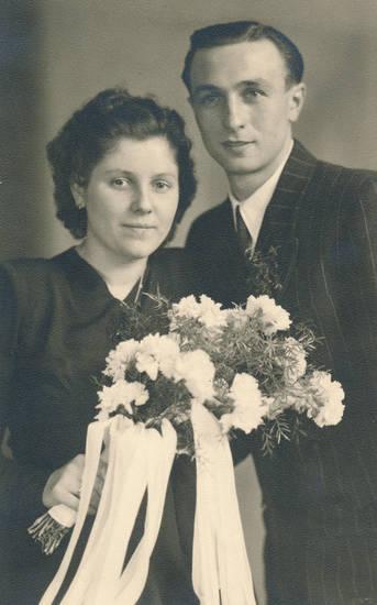 Blumenstrauß, Brautstrauß, ehepaar, Hochzeit, Hochzeitspaar