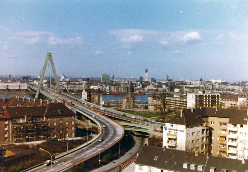 brücke, Filialkirche, kirche, köln, Köln-Deutz, Sankt Heinrich, Severinsbrücke, St. Heinrich, turm