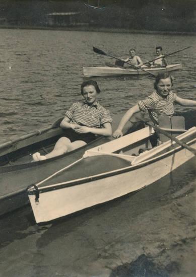 Kanu, paddel, Paddelboot, Sommer