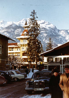 Verschneites Garmisch