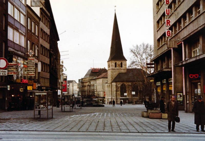 Christentum, geschäft, innenstadt, kirche, laden, Religion, St. Johann Baptist