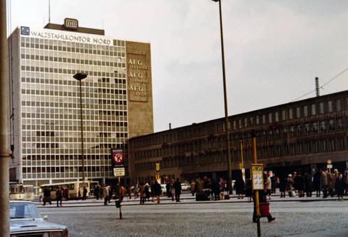 Essen Hauptbahnhof, 1969