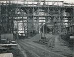 Bau der Waschmühltalbrücke