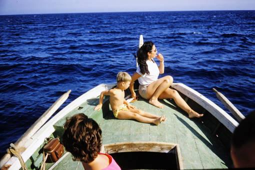 Auf dem weiten Meer