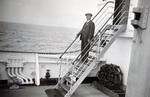 Mann an Bord