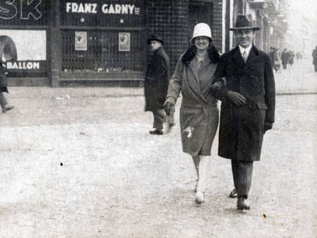 Paar in der Stadt