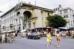 Straßenmarkt