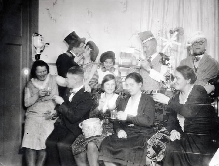 feier, Kostüm, Rheine, sofa, verkleidung, zylinder