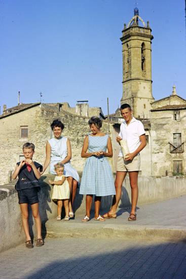 familie, Kindheit, Kirchturm, mode, sandalen, urlaub