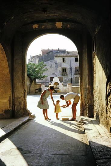 Kindheit, kleid, mode, Spanien, tunnel, urlaub