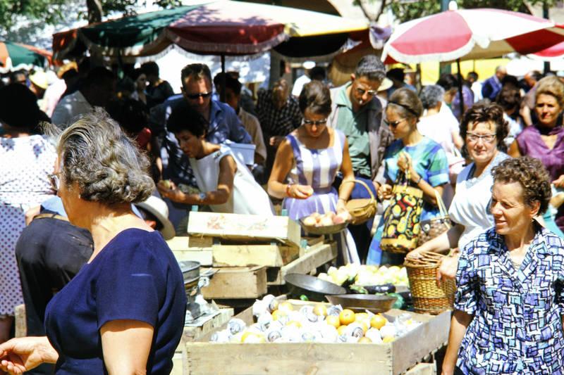 Brille, früchte, markt, mode, Muster, Obst, Sonnenschirm, Spanien