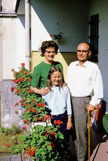 Alpen, Brille, familie, gehstock, Großeltern, Kindheit, mode