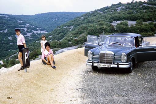 Rast im Ardèche Tal
