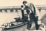 Vater und Sohn am Rhein
