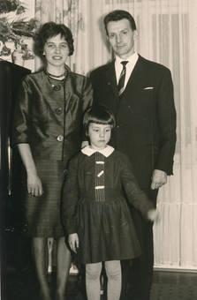 Eltern und Tochter