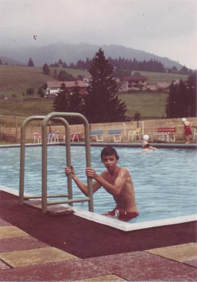 freibad, jugend, jungholz, leiter, schwimmbad, Schwimmbecken, Tirol, urlaub