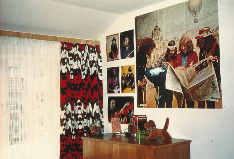 band, Bücher, jethro tull, Jugendzimmer, Poster, stofftier, vorhang