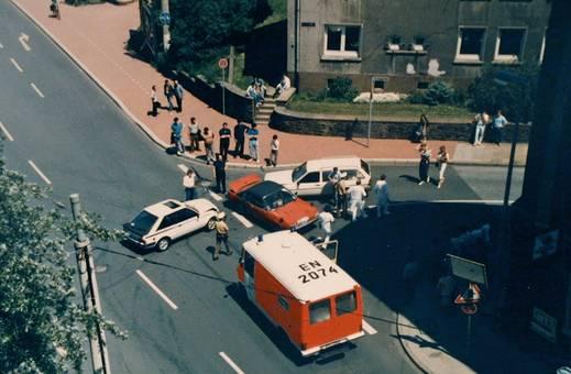 Unfall ohne Verletzte