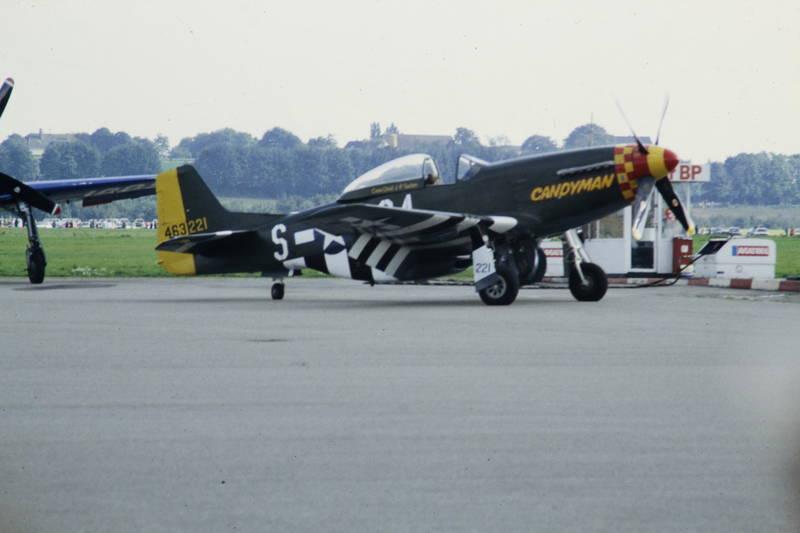 Candyman, Flugplatz, Flugtag, flugzeug, North American P-51 Mustang