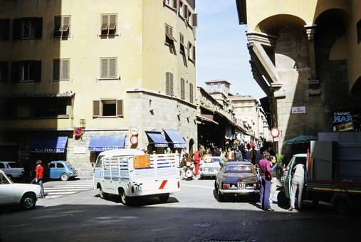 Die Straßen von Florenz