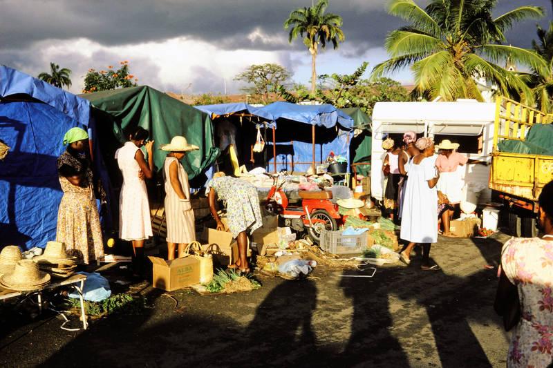 Guadelupe, markt, mode, Palme, Pointe-à-Pitre