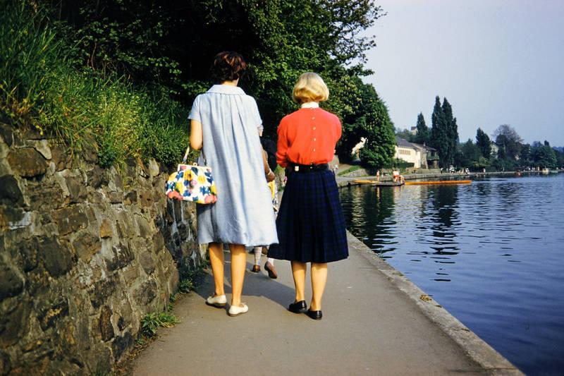 Badesteeg, Kindheit, mode, Ruhr, spaziergang, Tasche
