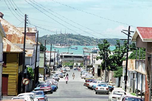 Straße zum Meer