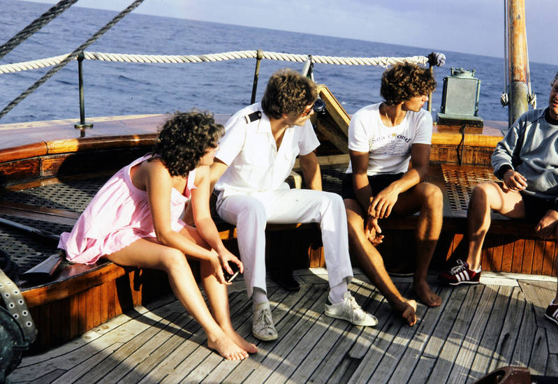 Guadelupe, Matrosenkleidung, meer, mode, schiff, Seemannsgeschichten