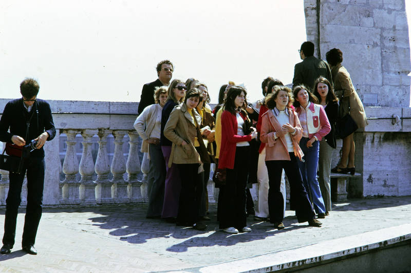 Dach, Kindheit, mode, Petersdom, Rom, statue, vatikanstadt