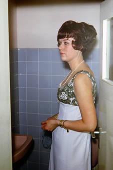 Im Abendkleid