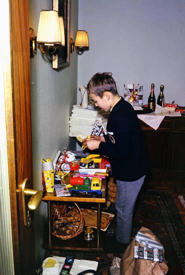 geschenk, Inneneinrichtung, Kindheit, Weihnachten, wohnzimmer