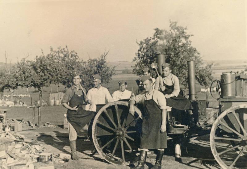 arbeit, Feldarbeit, Feldkochherd, Gulaschkanone, kelle, Nationalsozialismus, Reichsarbeiterdienst