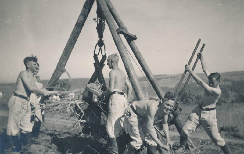 arbeit, arbeitsdienst, Feldarbeit, landarbeit, Nationalsozialismus, Reichsarbeitsdienst