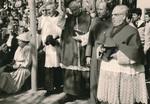 Geistliche und Pilger